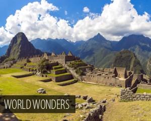Travel Inspiration - World Wonders