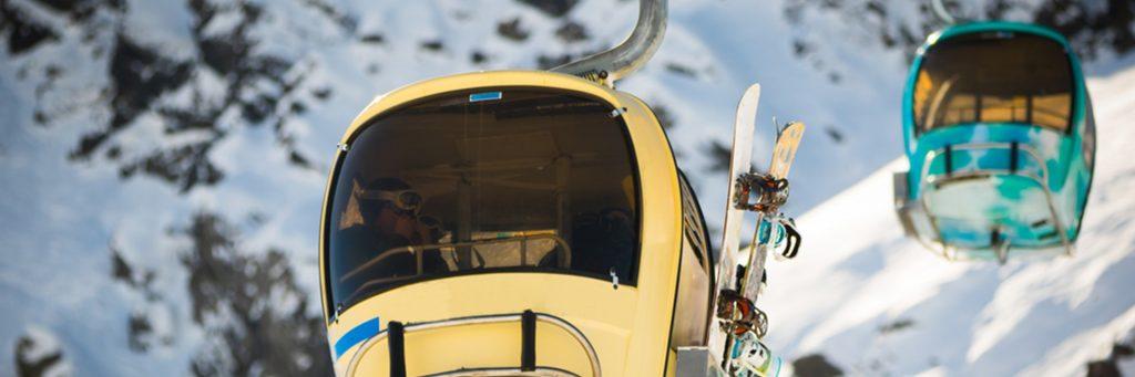 Ski lift in Morzine Ski Resort