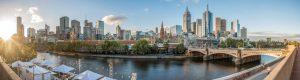 Melbourne's cityscape, Australia